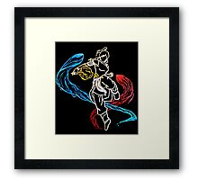 Avatar Korra Three Elements Framed Print