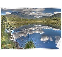 Lake Rosebery/ Mt Murchison, Tasmania Poster