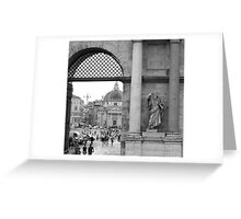 When in Rome Greeting Card