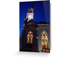 St. Mary Catholic church  Greeting Card