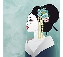 Japanese woman Photographic Print