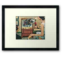 Surveillance Society Framed Print