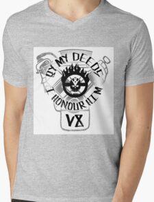 By my deeds I honour him Mens V-Neck T-Shirt