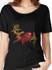 abstract heart Women's Relaxed Fit T-Shirt