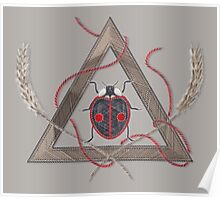 LadyBug Triangle - Essence Poster