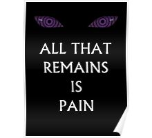 Naruto All that remains is Pain  Poster
