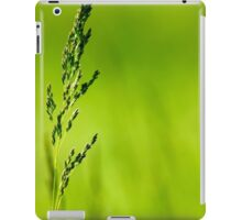 I Know Why The Grass Is Green iPad Case/Skin