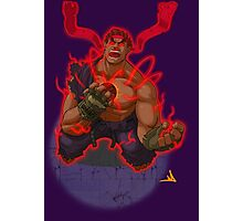 Evil Ryu Red Eyes Photographic Print