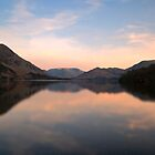Sunset at Ullswater by James Dolan
