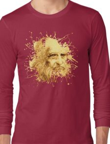 Da Vinci Splat Long Sleeve T-Shirt