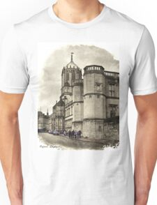 Street in Oxford, England Unisex T-Shirt