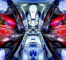 Convergence Abstract by Alexander Butler