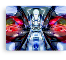 Convergence Abstract Canvas Print