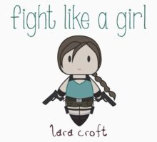 Fight Like a Girl - Lara Croft | Tomb Raider Kids Clothes