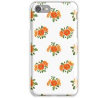 Watercolor poppies iPhone Case/Skin