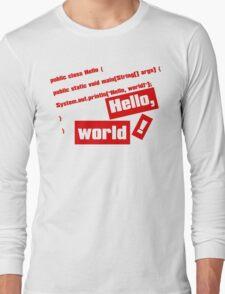 Hello, World! Long Sleeve T-Shirt