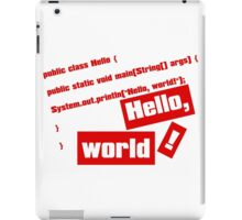 Hello, World! iPad Case/Skin