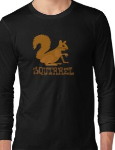 Cute: Squirrel Long Sleeve T-Shirt