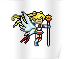 Sailormoon - 8 bit Poster