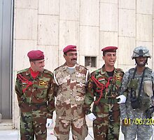 Iraqi Army Day by Denise Johnson
