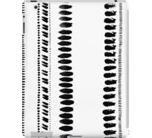 Tribal ink stripes iPad Case/Skin