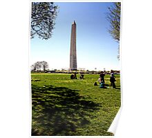Spring on the National Mall Poster