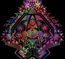 Kaleidoscopic Symmetry by Zoe Gwendoline