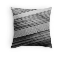 Floating Bridge 5 Throw Pillow