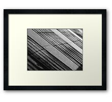Floating Bridge 6 Framed Print