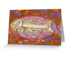 remember fish? Greeting Card