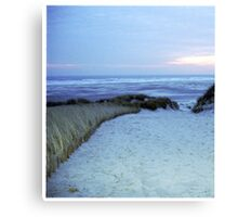 Dune at sunset Canvas Print
