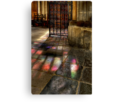 Fiat Lux - Let there be light Canvas Print