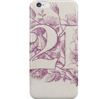 Twenty One iPhone Case/Skin