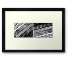 Floating Bridge (diptych 5/6) Framed Print