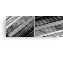 Floating Bridge (diptych 5/6) Canvas Print
