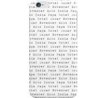 Iphone Phonetics iPhone Case/Skin