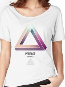 Triangle Penrose  Women's Relaxed Fit T-Shirt