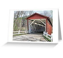 Everett Road Covered Bridge Greeting Card