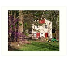 Life in the Country  Art Print