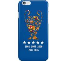 Barcelona - Champions League Winners iPhone Case/Skin