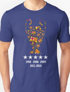 Barcelona - Champions League Winners T-Shirt
