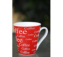 Coffee,coffee,coffee Photographic Print