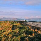 Seascape Fenit with lighthouse by Paul Woods