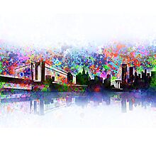 new york city skyline 3 Photographic Print