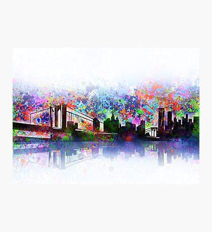 new york city skyline 3 Photographic Print