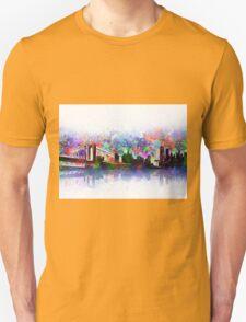 new york city skyline 3 Unisex T-Shirt