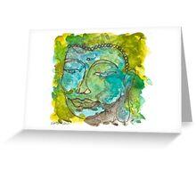 Maya Buddha Greeting Card