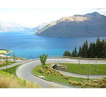 Transversely Tranquil - Lake Wakatipu Photographic Print