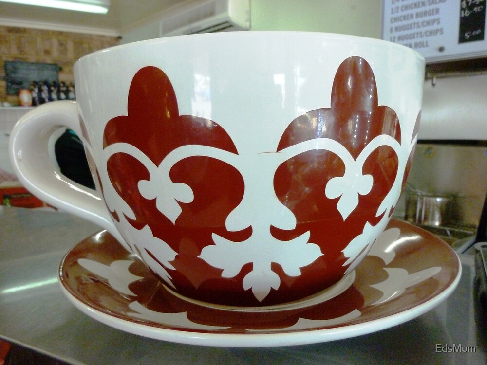 Giant Cup & Saucer by EdsMum