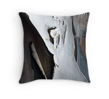 A whiter shade of peel Throw Pillow